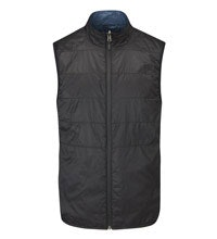 Lightweight, insulated fleece vest for travel and active outdoor wear