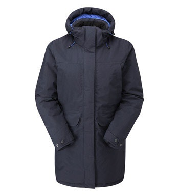 Waterproof, insulated winter coat.