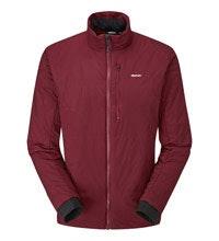 Lightweight, water-repellent wadded jacket.
