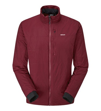 Lightweight, water-repellent wadded jacket.