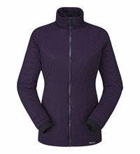 Long length water-repellent wadded jacket.