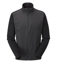 Wind resistant, insulated jacket.