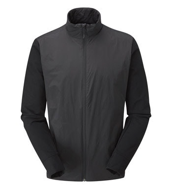 Insulated stretch jacket.