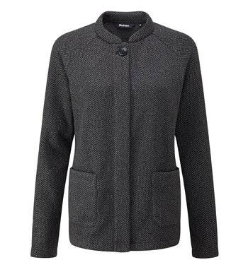 Relaxed, technical fleece jacket.