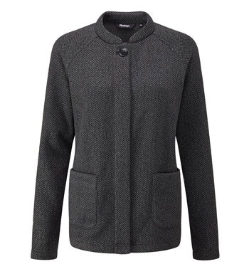 Relaxed, technical fleece jacket.