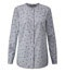 Light Grey Marl Print