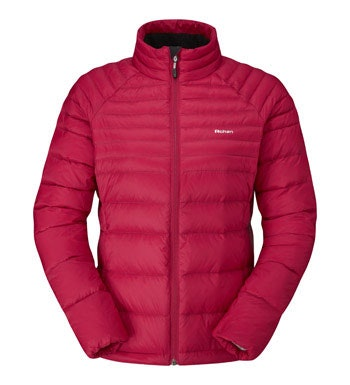 Lightweight down jacket.