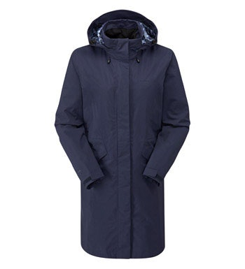 Longer length waterproof jacket.