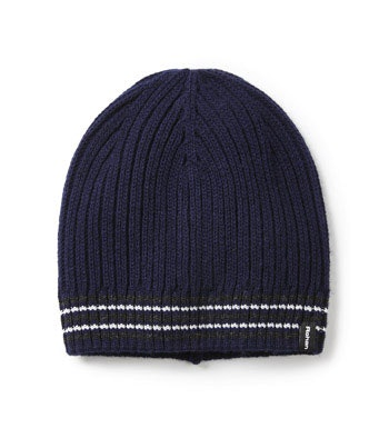 Reflective, fleece lined beanie hat.