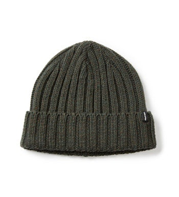 Knitted-effect, warm fleece hat.