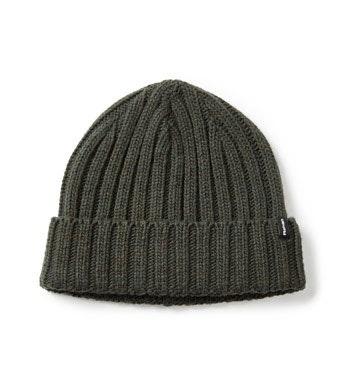 Knitted-effect, warm fleece hat.