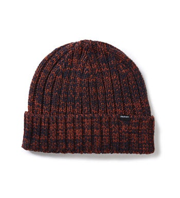 Durable knit style hat ideal for everyday winter wear.