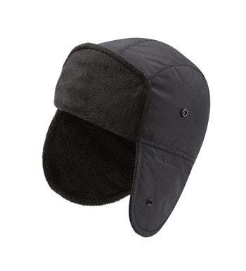 Insulated winter cap.