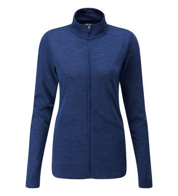 Super soft merino zip top.