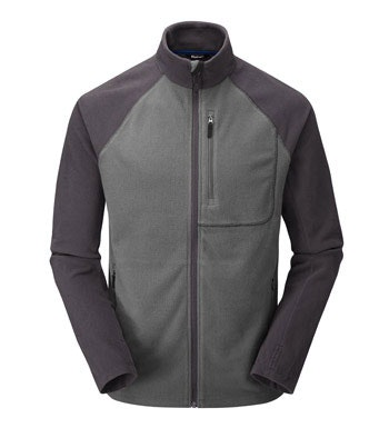 Lightweight and versatile insulating fleece jacket.