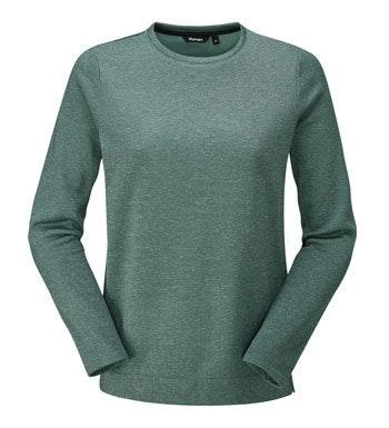 Crew neck fleece sweater.
