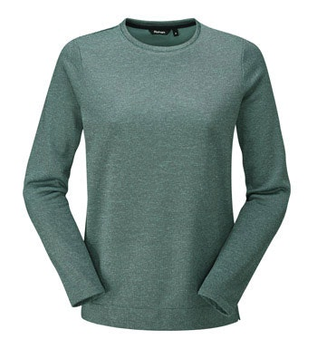 Crew neck fleece sweater.
