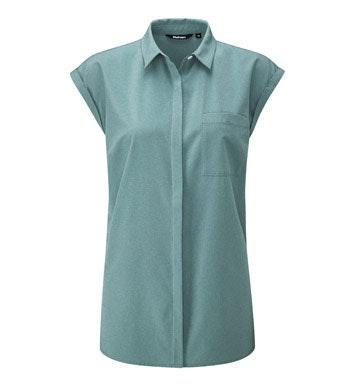 Smart, practical sleeveless shirt.