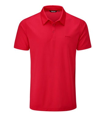 High-wicking performance polo.