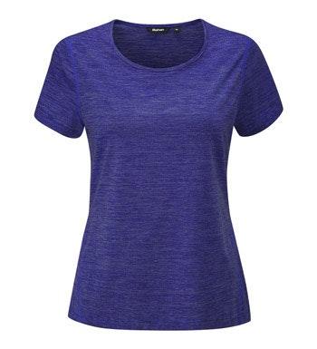 Lightweight, short-sleeved, technical base layer T.