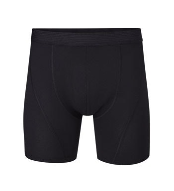 Anatomically shaped, active boxer shorts.