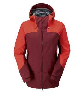The pinnacle in waterproof protection for active mountain use.