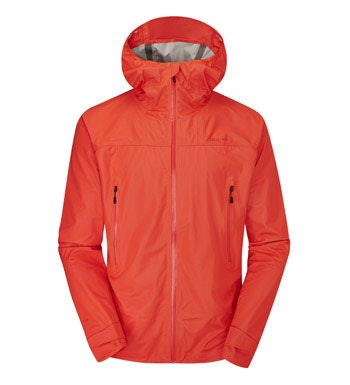 A men's rain jacket that's lightweight yet heavy duty, waterproof yet breathable.
